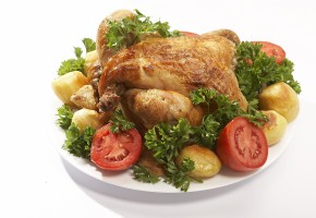 "Курица с овощами ""по-домашнему"" в Омске   пекарня Hot Lavash"