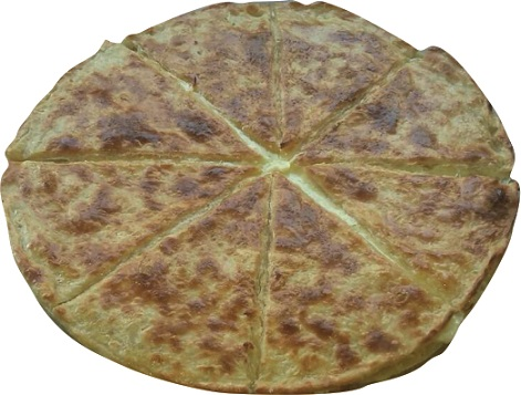 Хачапури с домашним сыром сулугуни
