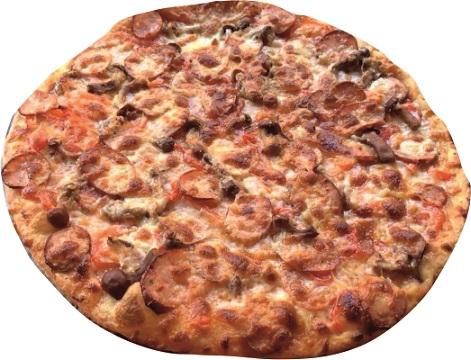 Пицца «Спартанская»