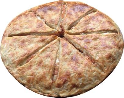 Хачапури с куриной грудкой и с сыром сулугуни